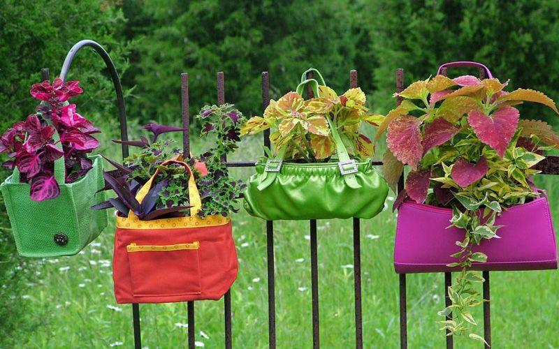 Original garden pots and planters