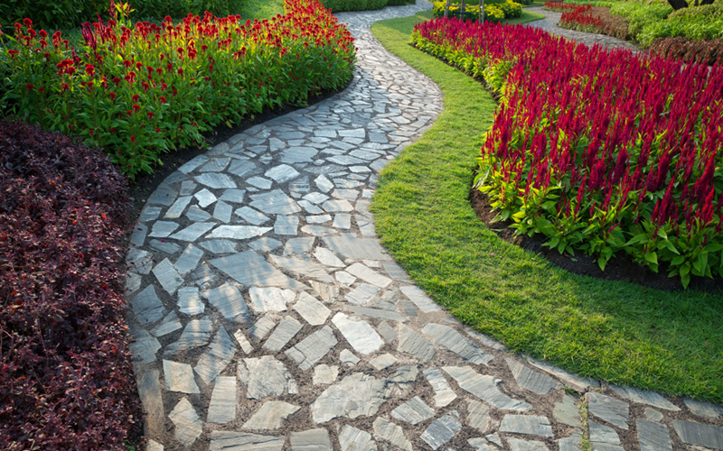 Create paths with bricks