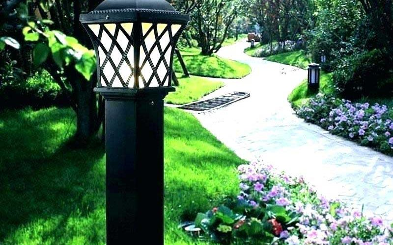 Garden lamps: Types of lamps for the garden