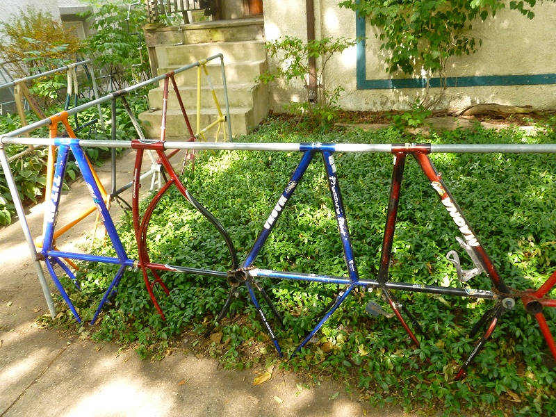 The idea to make a bike fence