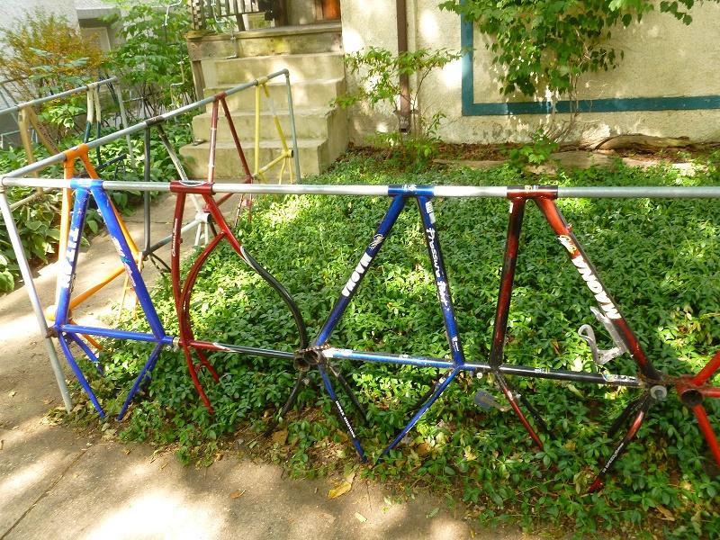 The idea to make a bike fence