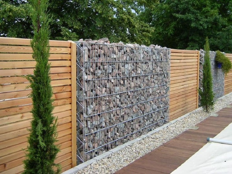 Fences for gardens: Tips before buying