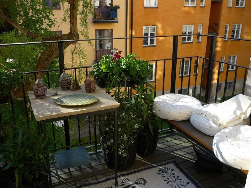 How to make a garden in your home's balcony