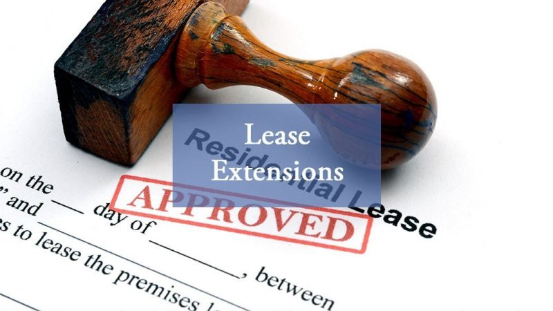 Why you might want to extend your lease